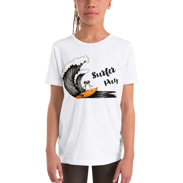 It's surfing time! 03 Youth Short Sleeve T-Shirt