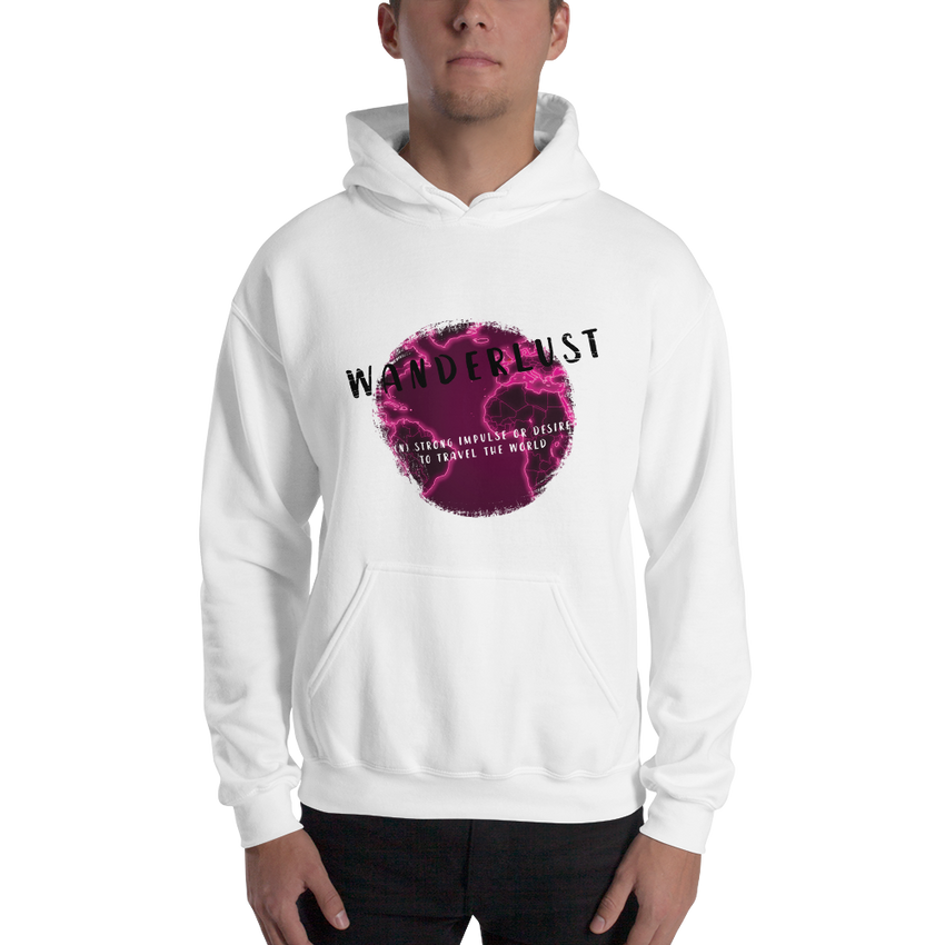 Wanderlust112 Gildan 18500 Unisex Heavy Blend Hooded Sweatshirt