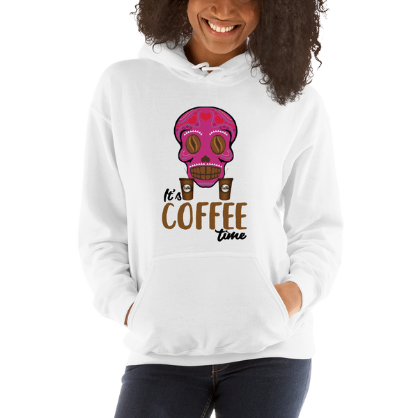 Its Coffee Time060 Hooded Sweatshirt
