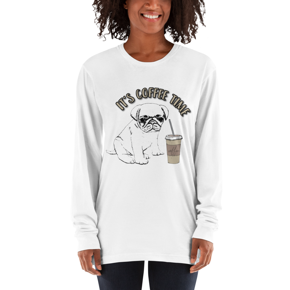 Its Coffee Time059 Long sleeve t-shirt