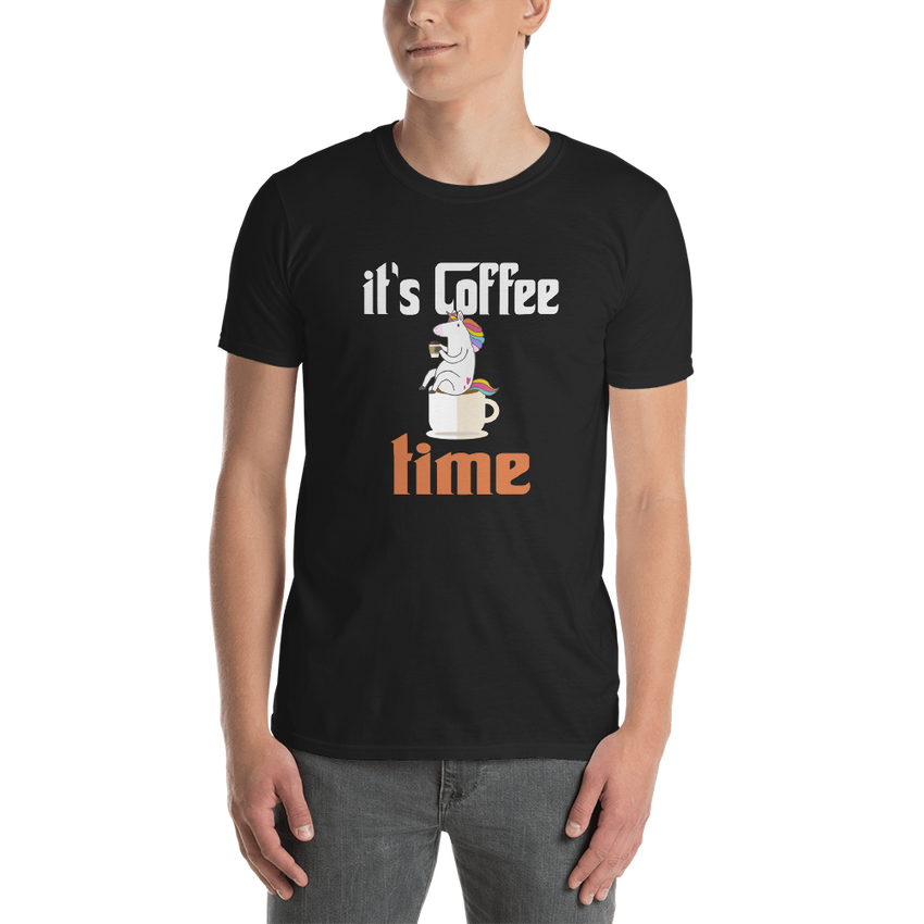 It's Coffee Time007 Gildan 64000 unisex softstyle Softsyle