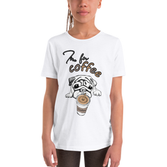 Its Coffee Time57 Youth Short Sleeve T-Shirt