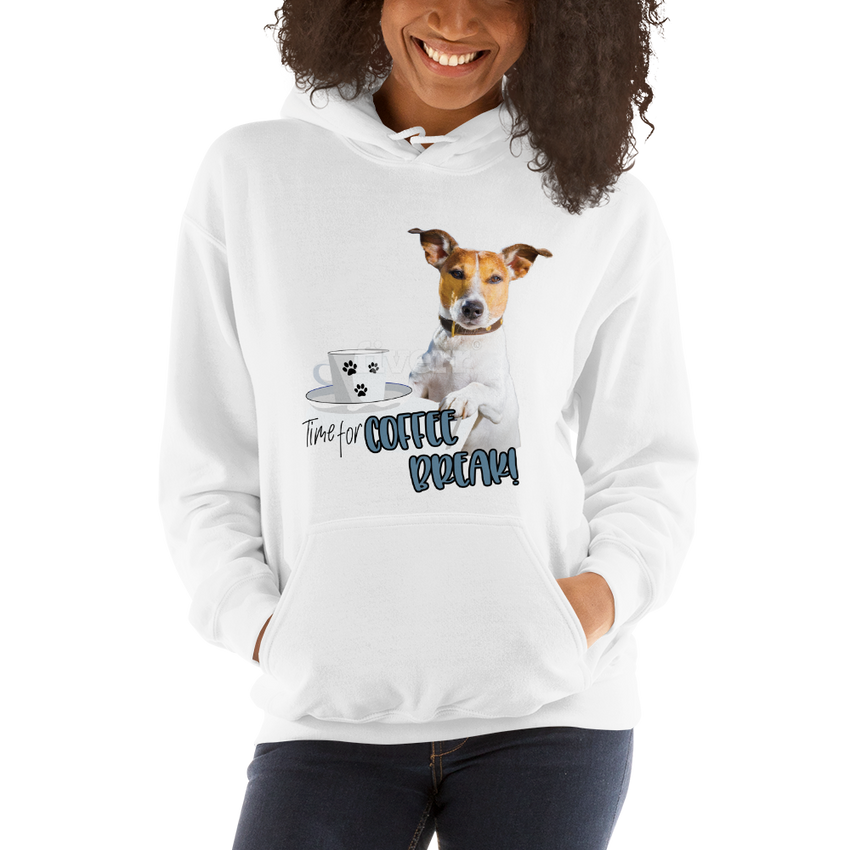 Its Coffee Time052 Hooded Sweatshirt