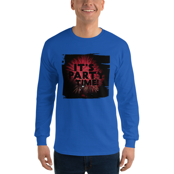 Its Party time10 Gildan 2400 Ultra Cotton Long Sleeve T-Shirt