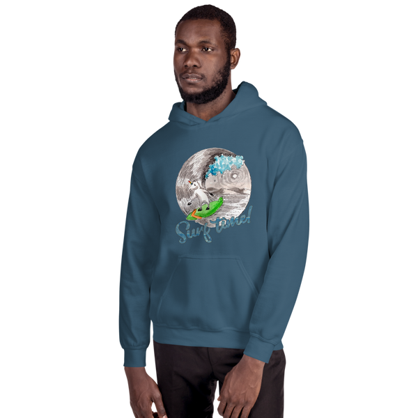 It's Surfing Time01 Gildan 18500 Unisex Heavy Blend Hooded Sweatshirt