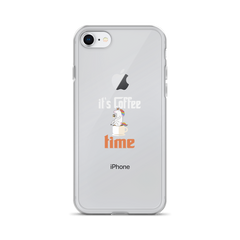Its Coffee Time07 iPhone Case