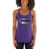 Explore The World004 Next Level 6733 Ladies' Triblend Racerback Tank