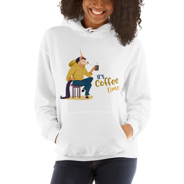 Its Coffee Time062 Hooded Sweatshirt