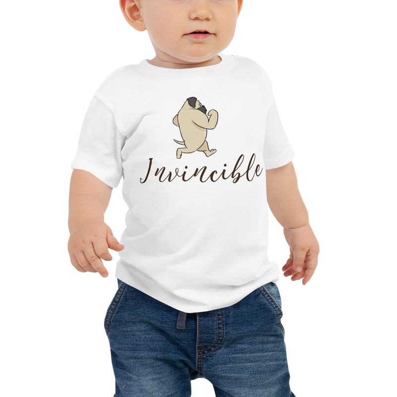 Invincible010 Bella + Canvas 3001B Baby Jersey Short Sleeve Tee with Tear Away Label