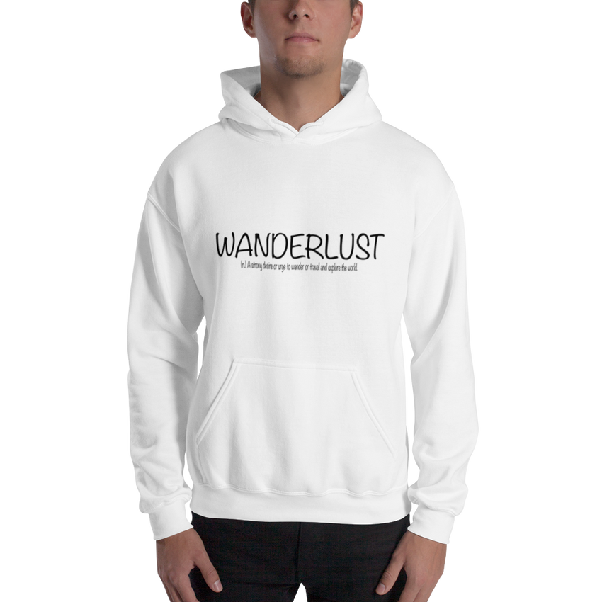 Wanderlust75 Gildan 18500 Unisex Heavy Blend Hooded Sweatshirt