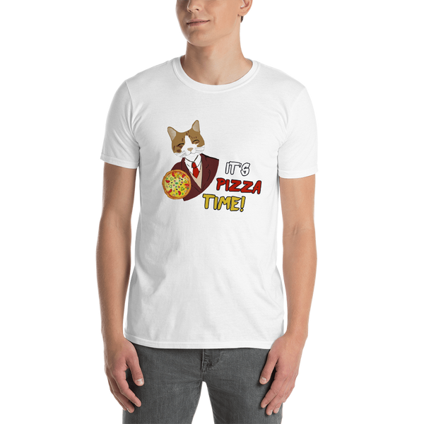 It's Pizza time! Men T-Shirts