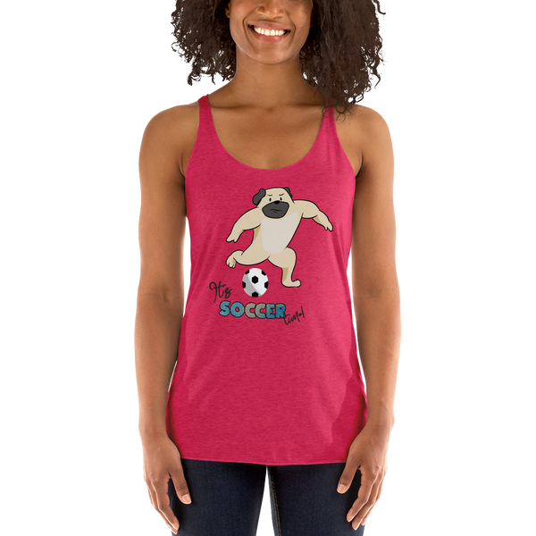 It's Soccer time! Women Tank Tops