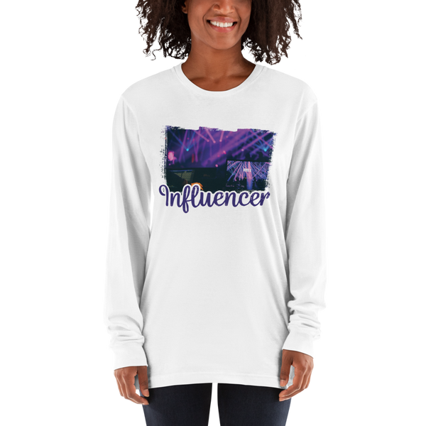 Influencer82 American Apparel 2007 Unisex Fine Jersey Long Sleeve T-Shirt Comfy style