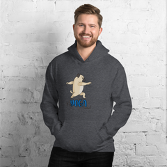 It's Yoga Time023 Gildan 18500 Unisex Heavy Blend Hooded Sweatshirt Heavy blend