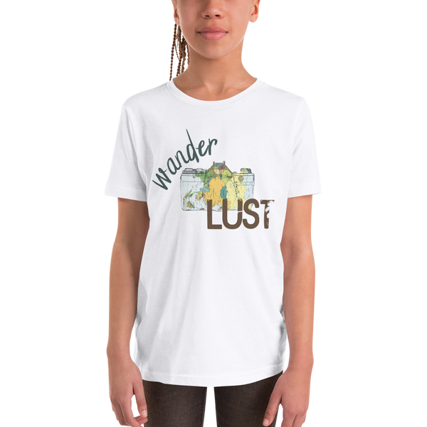 Wanderlust102 Youth Short Sleeve T-Shirt