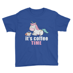 Its Coffee Time19 Youth Short Sleeve T-Shirt