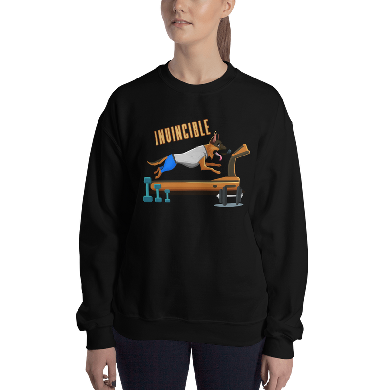 Invincible011 Gildan 18000 Unisex Heavy Blend Crewneck Sweatshirt