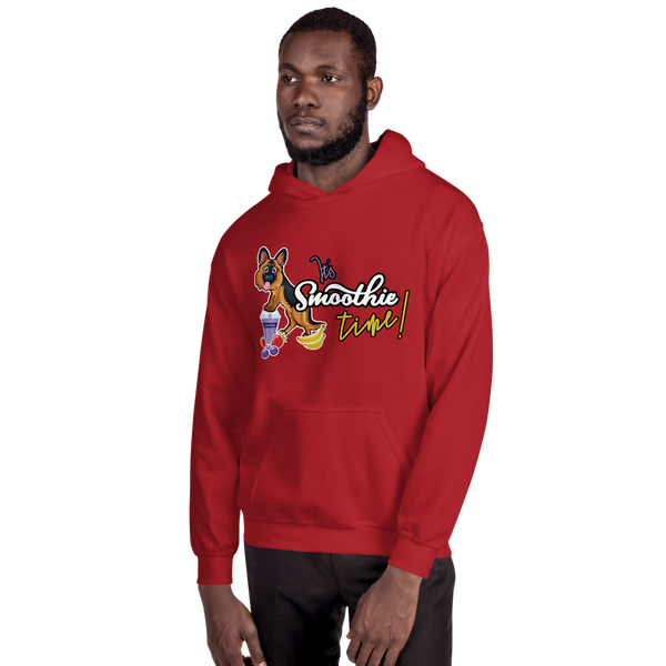 It's smoothie time09 Gildan 18500 Unisex Heavy Blend Hooded Sweatshirt
