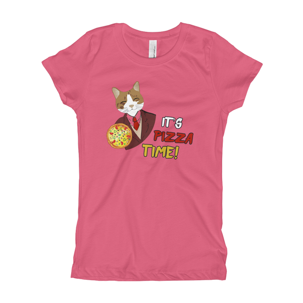 It's Pizza Time01 Girl's T-Shirt
