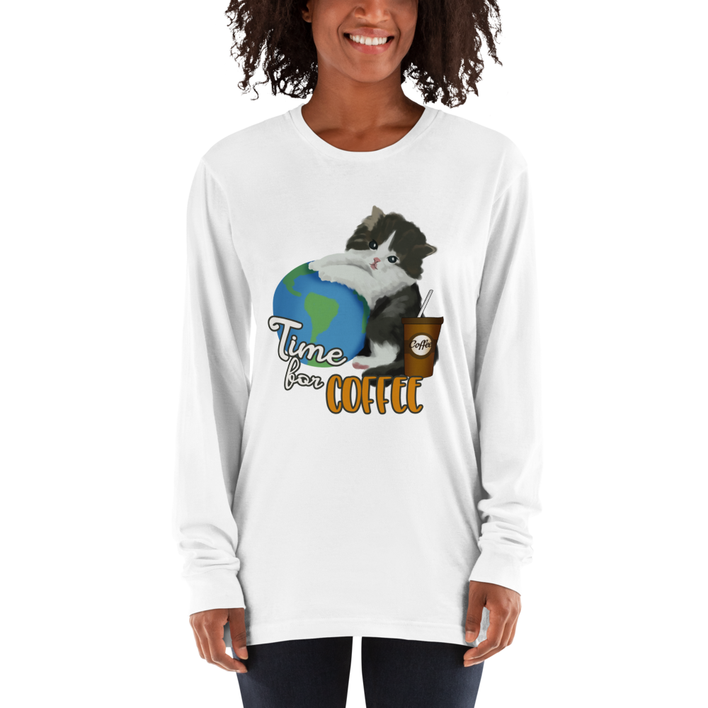 Its Coffee Time050 Long sleeve t-shirt