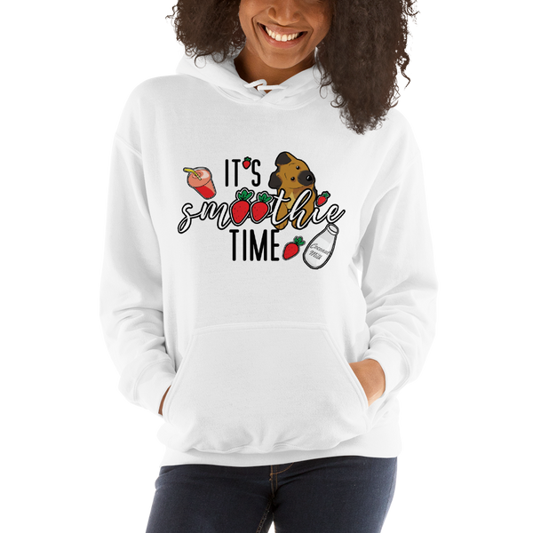 It's smoothie time06 Gildan 18500 Unisex Heavy Blend Hooded Sweatshirt Heavy blend