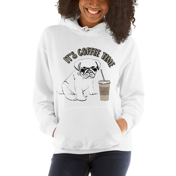 Its Coffee Time059 Hooded Sweatshirt