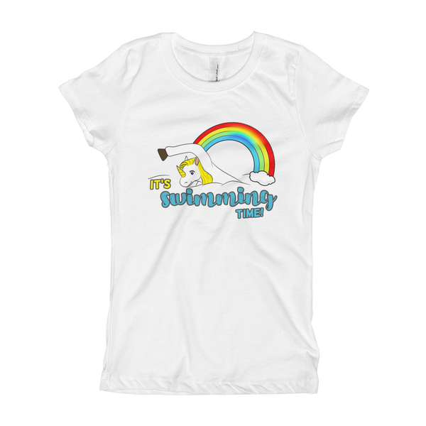 It's Swimming Time03 Girl's T-Shirt