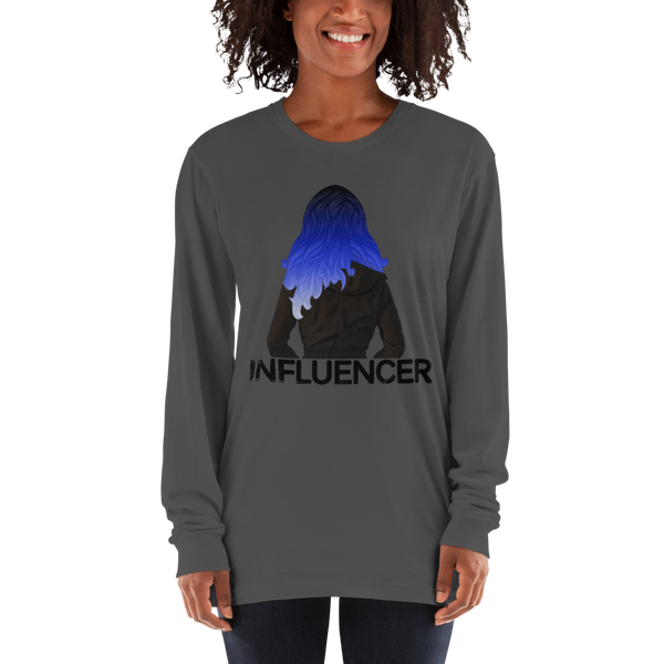 Influencer66 American Apparel 2007 Unisex Fine Jersey Long Sleeve T-Shirt Comfy style
