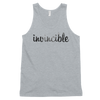 Invincible016 American Apparel 2408 Fine Jersey Tank Top Unisex