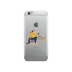 Its Coffee Time62 iPhone Case