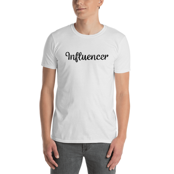 Influencer0178 Gildan 64000 Unisex Softstyle T-Shirt with Tear Away Label