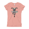 Invincible009 Next Level 3710 Girl's The Princess Tee with Tear Away Label