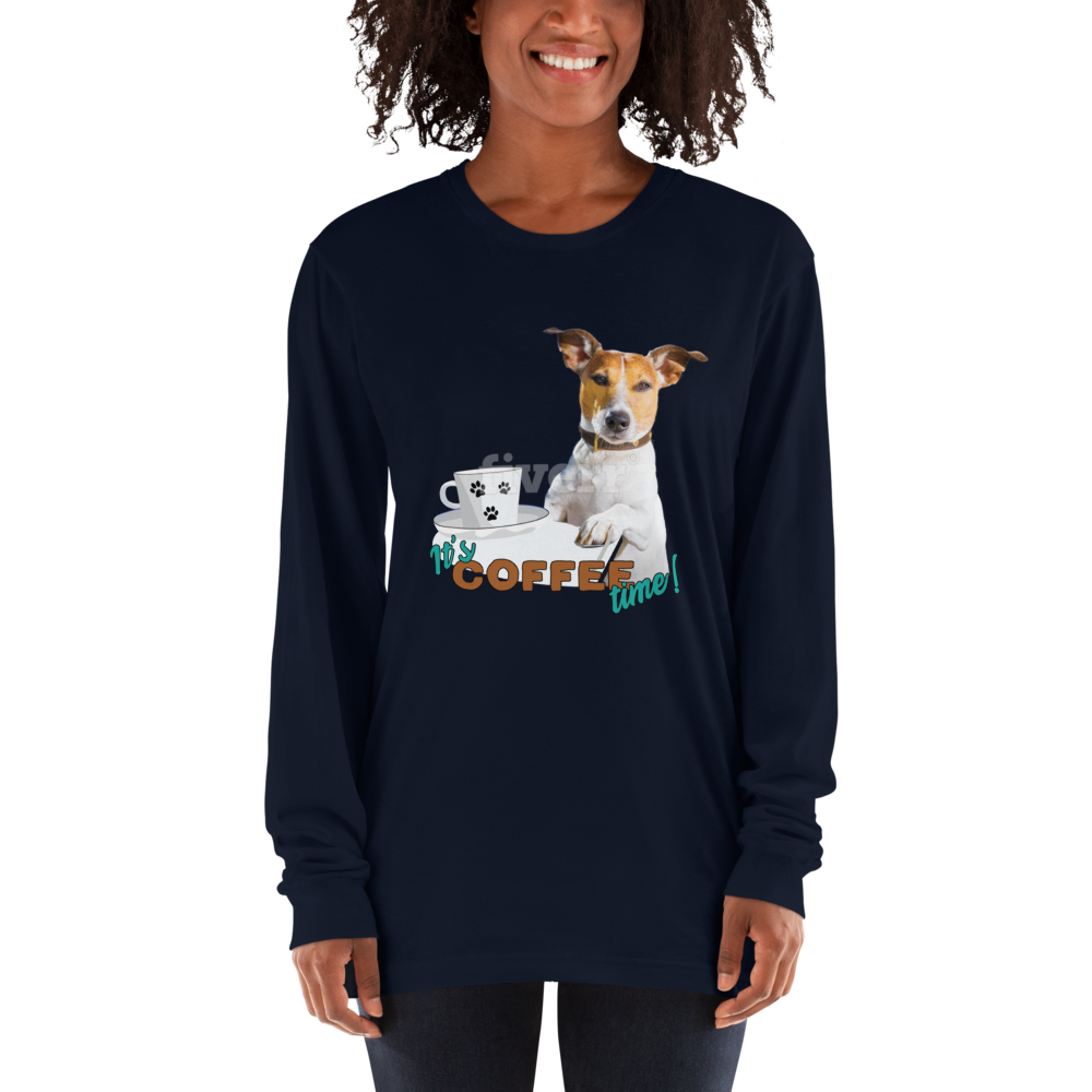 Its Coffee Time043 Long sleeve t-shirt