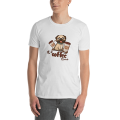 It's coffee time026  Gildan 64000 Unisex Softstyle T-Shirt with Tear Away Label