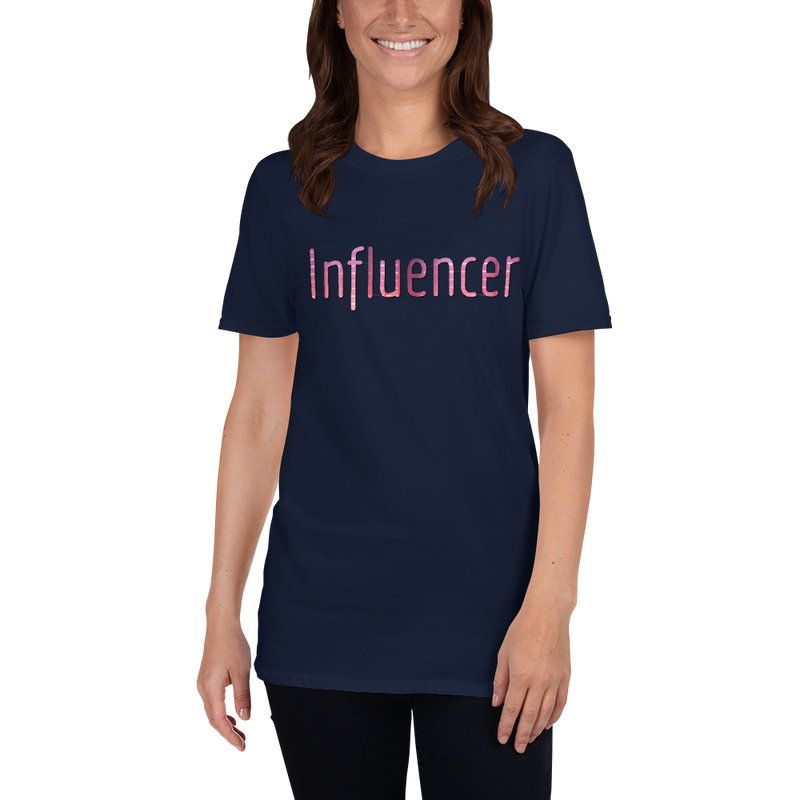 Influencer009 Gildan 64000 Unisex Softstyle T-Shirt with Tear Away Label