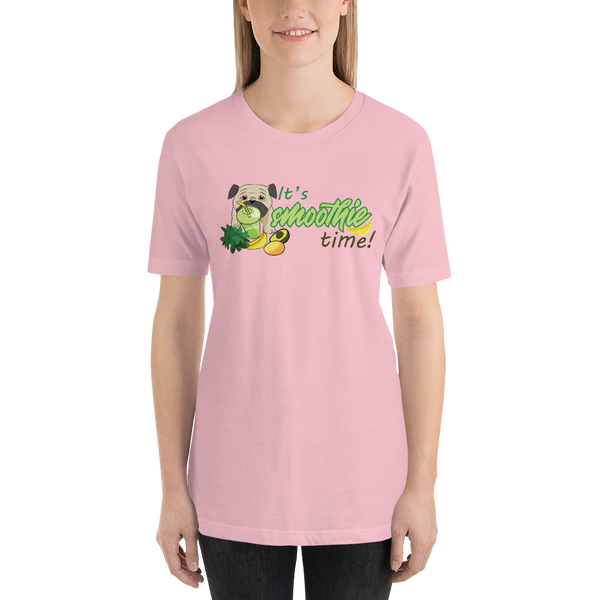 It's smoothie time10 Bella + canvas 3001 unisex  Jersey Style