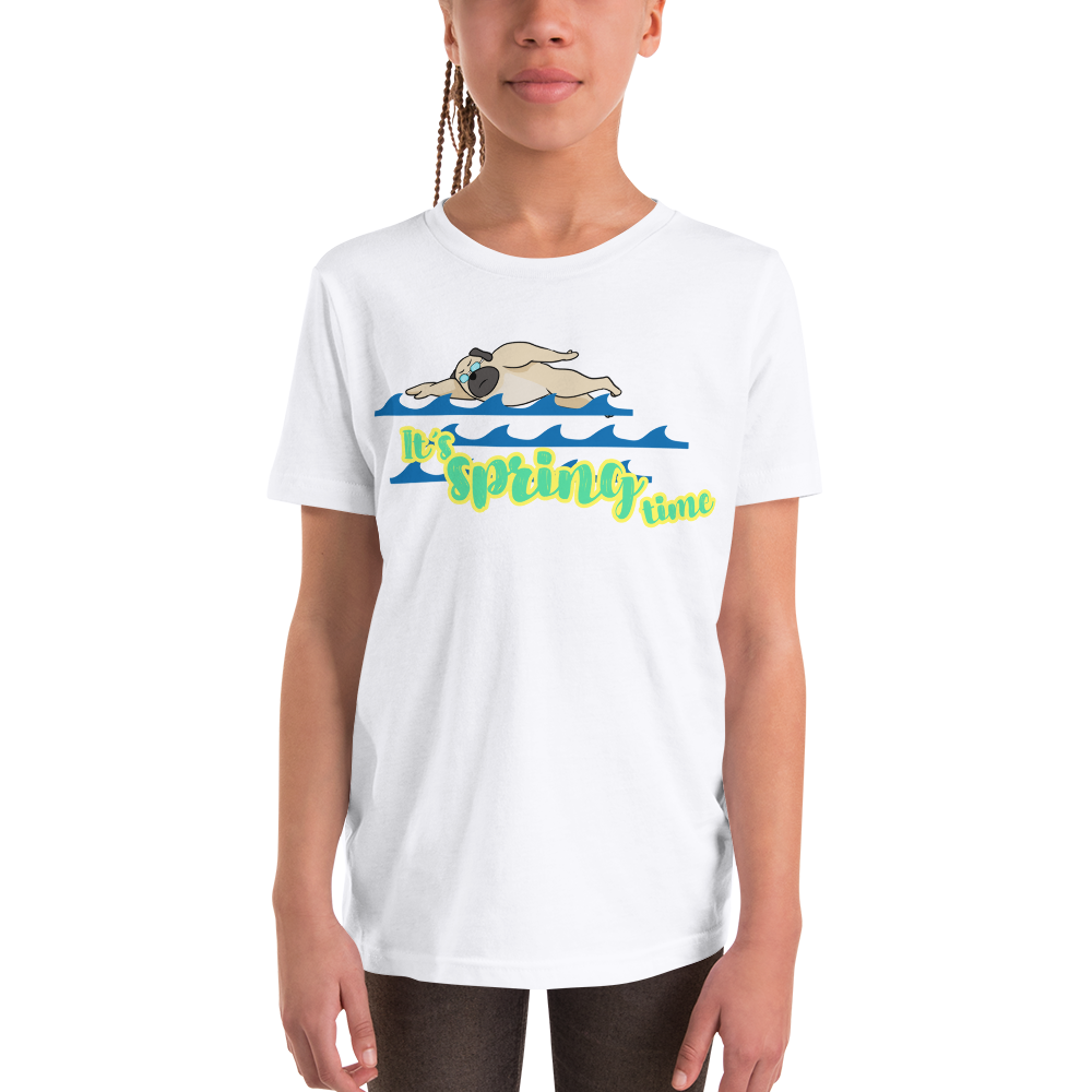 It's Swimming Time01 Youth Short Sleeve T-Shirt