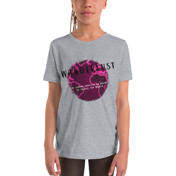 Wanderlust112 Youth Short Sleeve T-Shirt