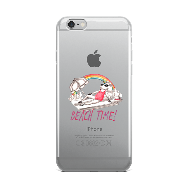 Its Beach Time03 iPhone Case