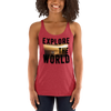 Explore The World009 Next Level 6733 Ladies' Triblend Racerback Tank