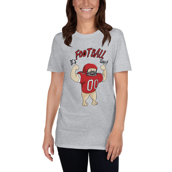 It's Football Time23 Gildan 64000 unisex softstyle Softstyle