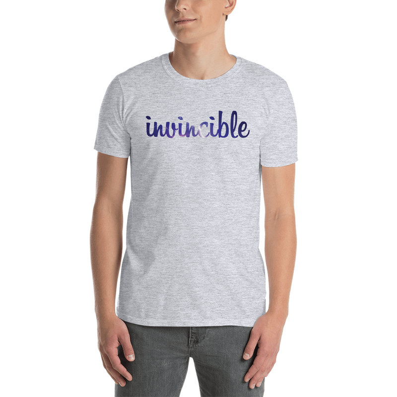 Invincible006 Gildan 64000 Unisex Softstyle T-Shirt with Tear Away Label