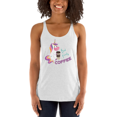 Its Coffee Time061 Women's Racerback Tank