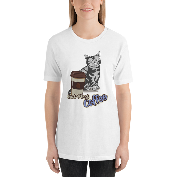 Its Coffee Time047 Short-Sleeve Unisex T-Shirt