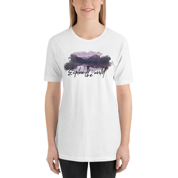 EXPLORE THE WORLD T-SHIRTS