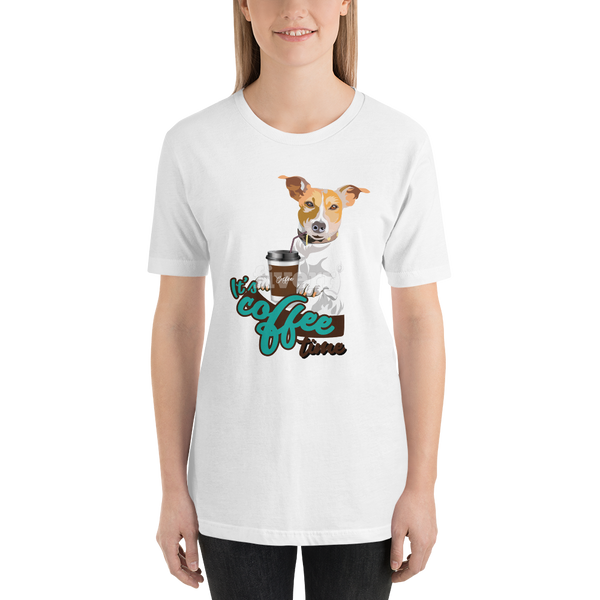 Its Coffee Time048 Short-Sleeve Unisex T-Shirt