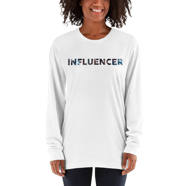 Influencer58 American Apparel 2007 Unisex Fine Jersey Long Sleeve T-Shirt Comfy style
