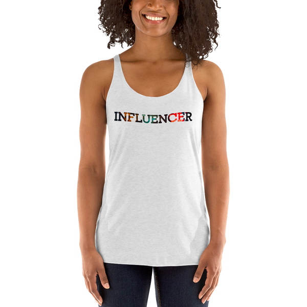 Influencer064 Next Level 6733 Ladies' Triblend Racerback Tank Triblend Racerback Tank