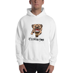 It's Coffee Time020 Gildan 18500 Unisex Heavy Blend Hooded Sweatshirt