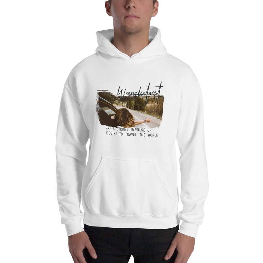 Wanderlust23 Gildan 18500 Unisex Heavy Blend Hooded Sweatshirt
